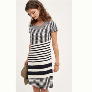Anthropologie, Maeve, Haven Striped Dress